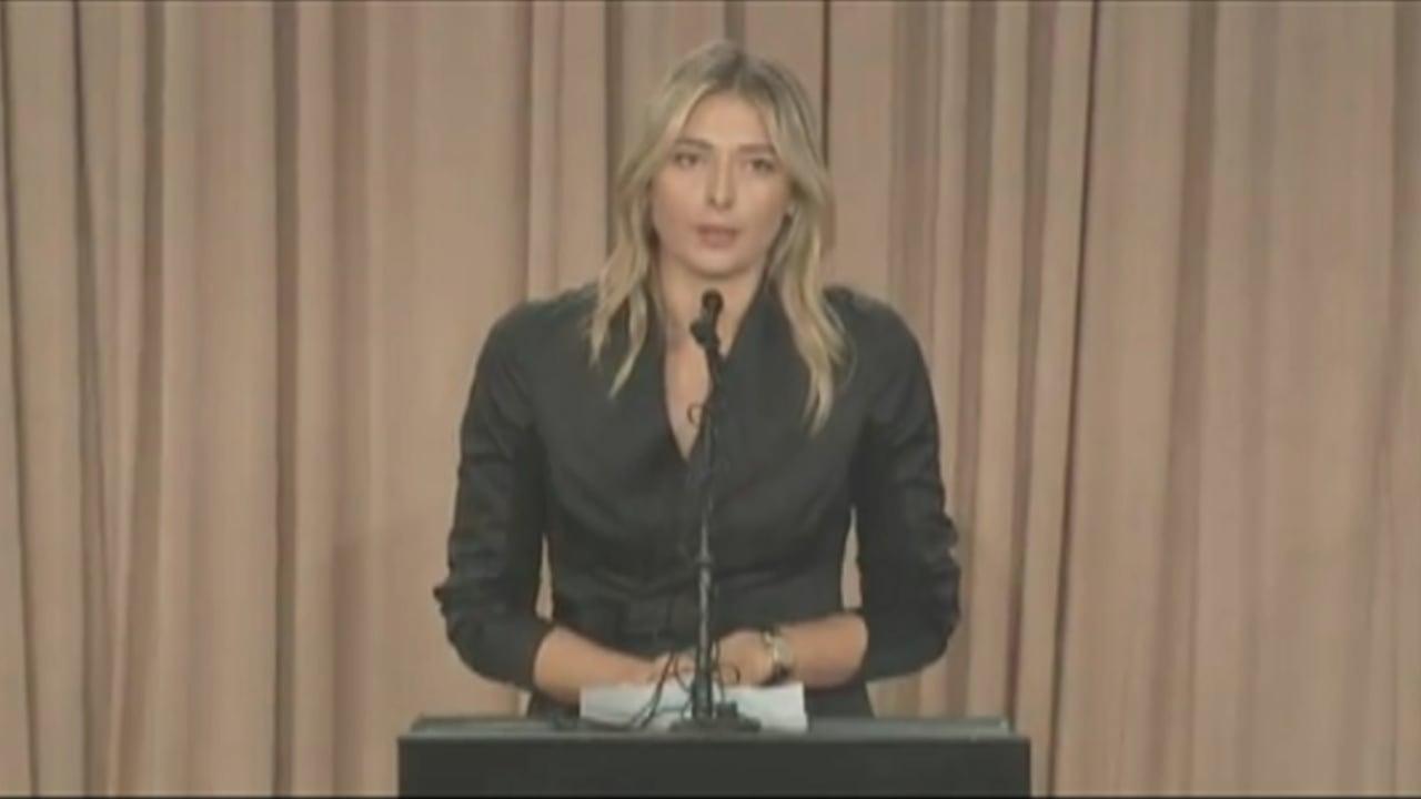 بالفيديو: ردود فعل متباينة على فشل الروسية شارابوفا في اختبار المنشطات