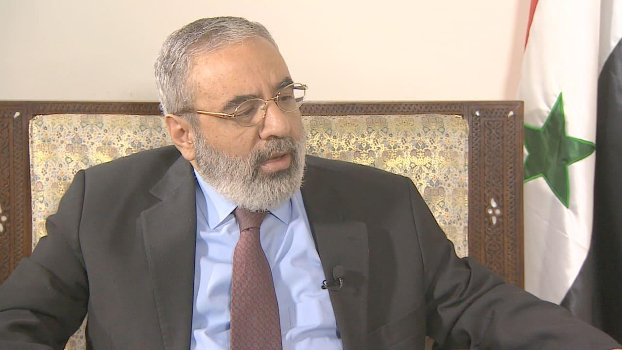 وزير الإعلام السوري لـCNN: أمريكا دولة عظمى.. وتستطيع ممارسة نفوذها على السعودية وقطر وتركيا