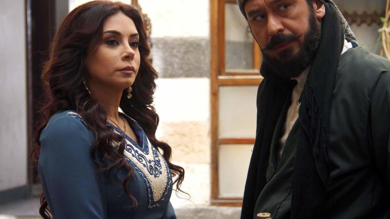 الممثل ميلاد يوسف بدور عز الدين والممثلة كاريس بشار بدور زمرد.