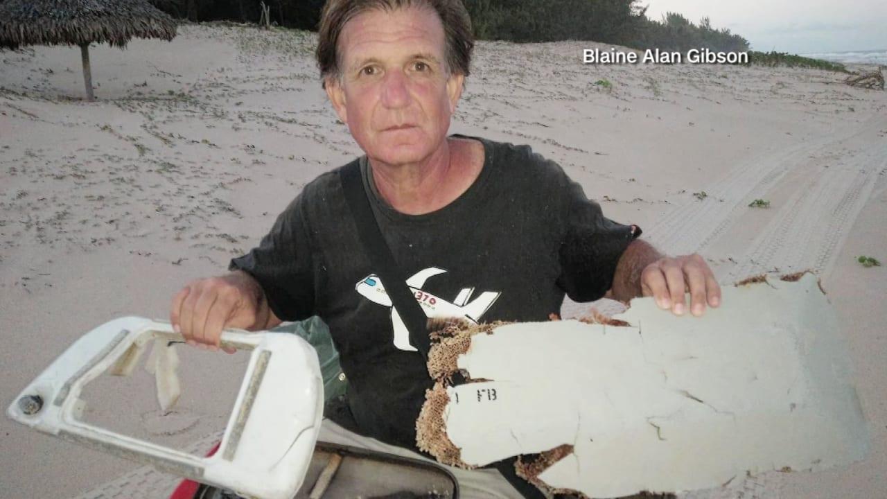 شاهد.. العثور على حطام يعتقد أنه للطائرة الماليزية المفقودة MH370