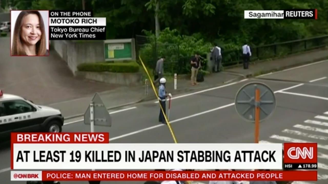 ياباني يطعن 19 شخصاً في مركز لذوي الاحتياجات الخاصة.. وضحاياه كلهم مرضى