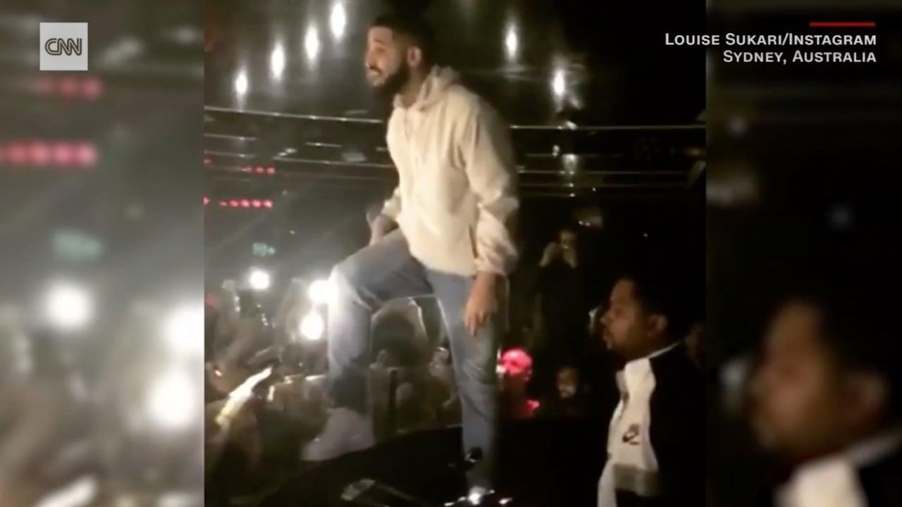 مغني راب أمريكي يقطع حفله ليوقف تحرشا بفتيات