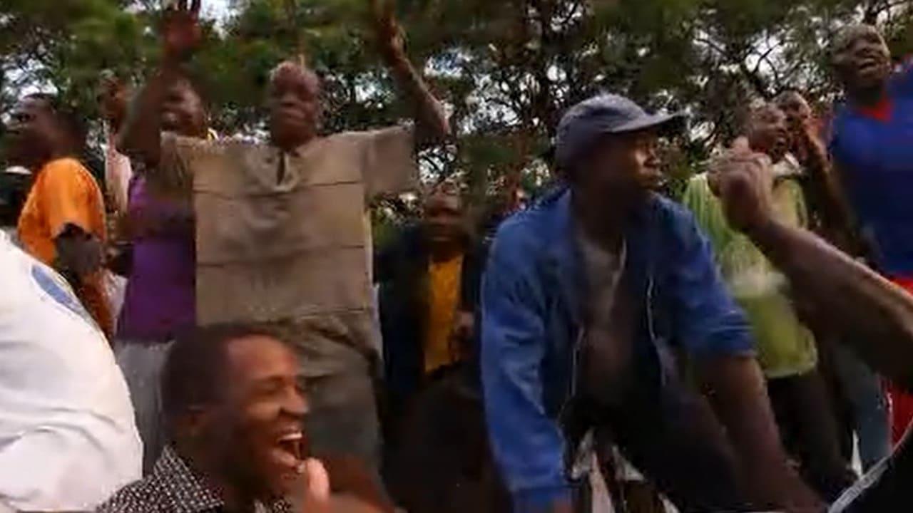 شاهد.. احتفالات بزيمبابوي بعد إعلان استقالة موغابي