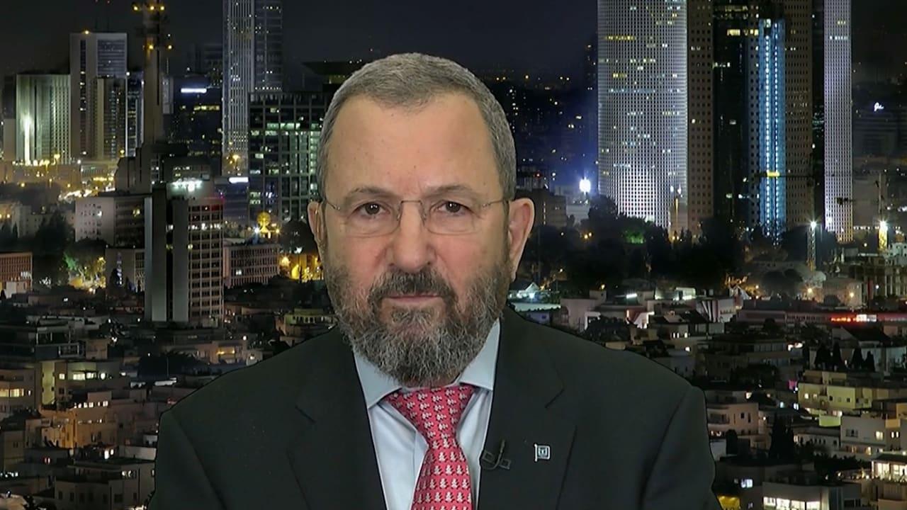حصريا على CNN.. إيهود باراك يتحدث عن ياسر عرفات وموقفه من القدس