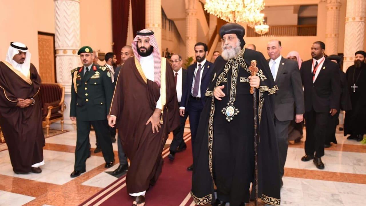 شاهد.. بابا الأقباط يتلقى دعوة تاريخية لزيارة السعودية وينفي بناء كنيسة فيها