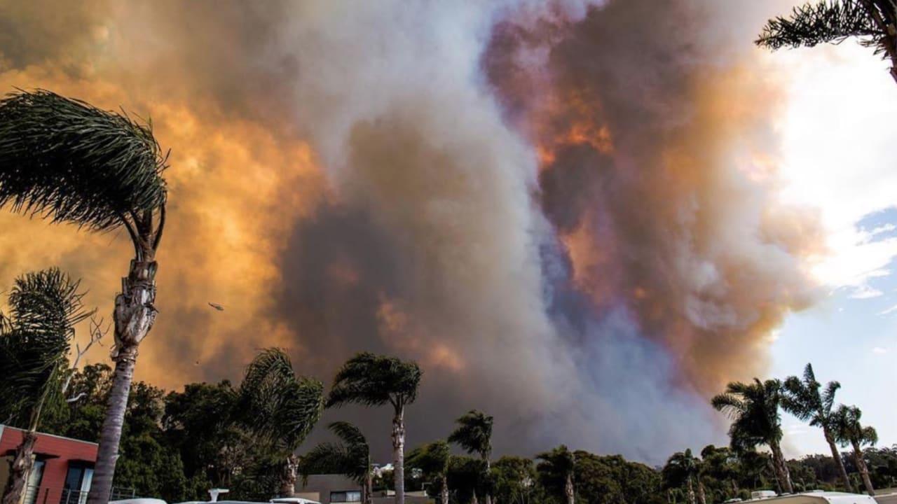 عشرات المنازل دمرت بحرائق غابات في أستراليا