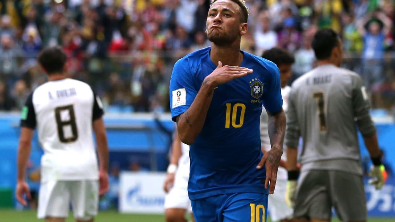 البرازيل تنجو من فخ كوستاريكا بهدفين قاتلين.. وتقصيها من البطولة
