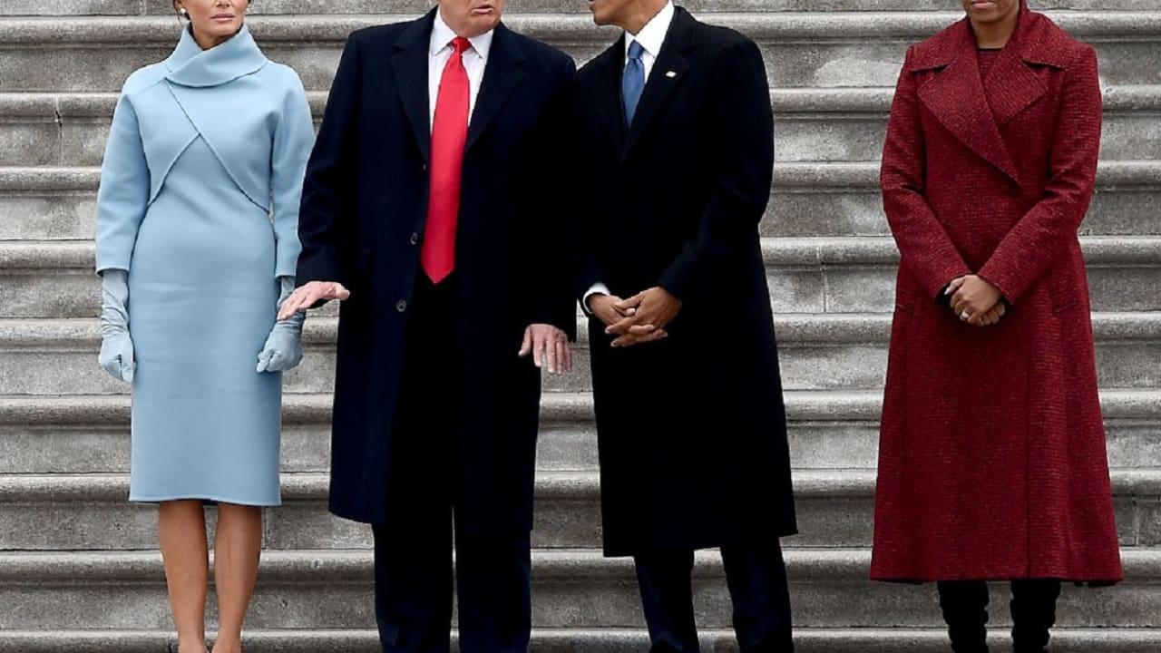 """""""واشنطن بوست"""" تنقل مذكرات ميشيل أوباما: لن """"تسامح"""" ترامب.. ورئيس أمريكا يرد"""