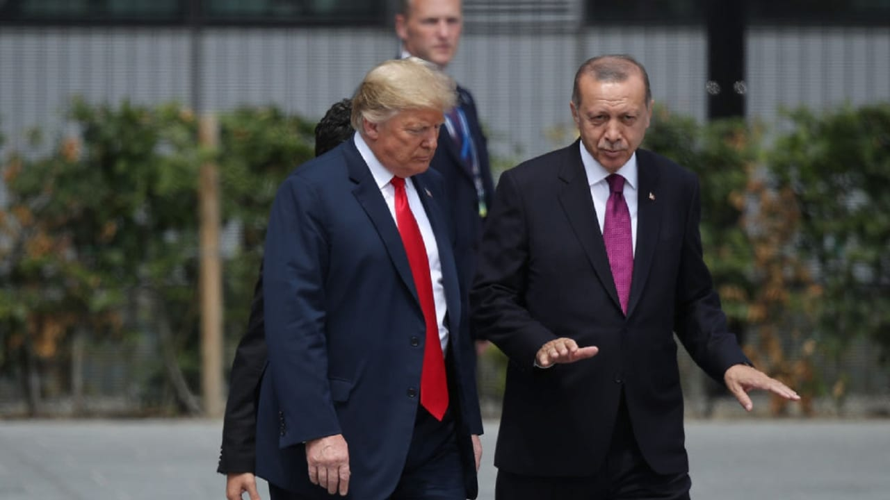 """الأناضول: أردوغان وترامب يبحثان جريمة خاشقجي والتحقيقات الأمريكية بشأن منظمة """"غولن"""""""