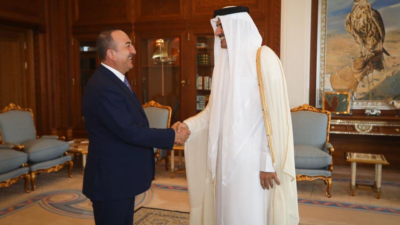 """أوغلو يشكر قطر على دعم """"نبع السلام"""".. والدوحة """"تُقدر"""" موقف أنقرة من """"الحصار"""""""