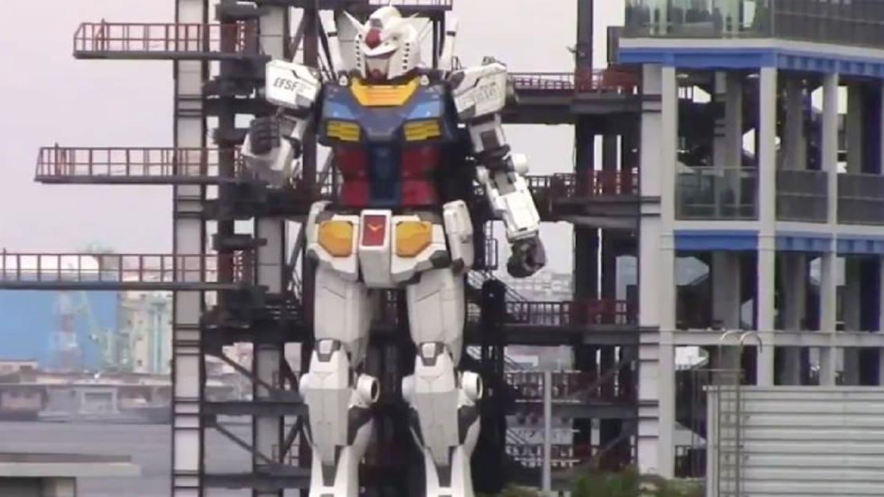"""روبوت """"غاندام"""" الياباني العملاق يستعرض قدراته (فيديو)"""