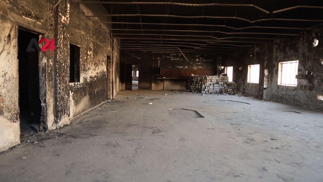 """كان سجنا ومركز تعذيب بعهد داعش.. إعادة إحياء """"الملعب الأسود"""" في الرقة"""