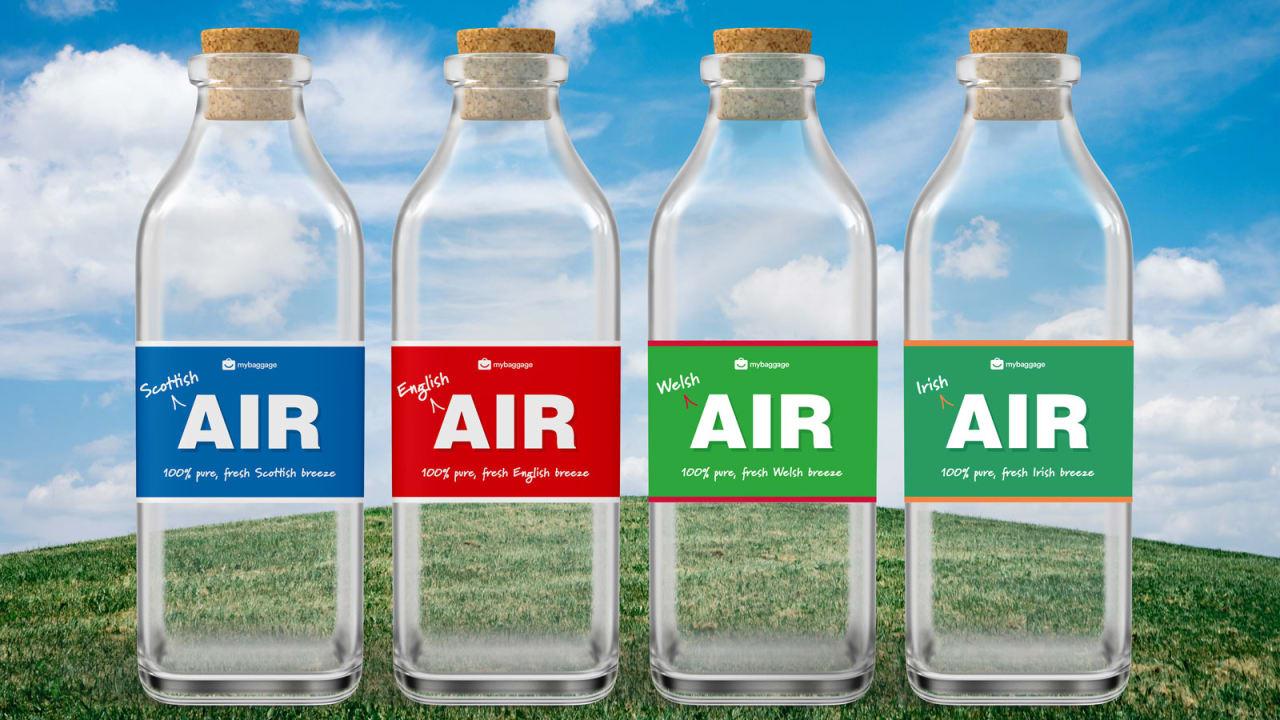 لمن يشعرون بالحنين للوطن.. شركة بريطانية تبيع هواء معبأ بكلفة 30 دولار