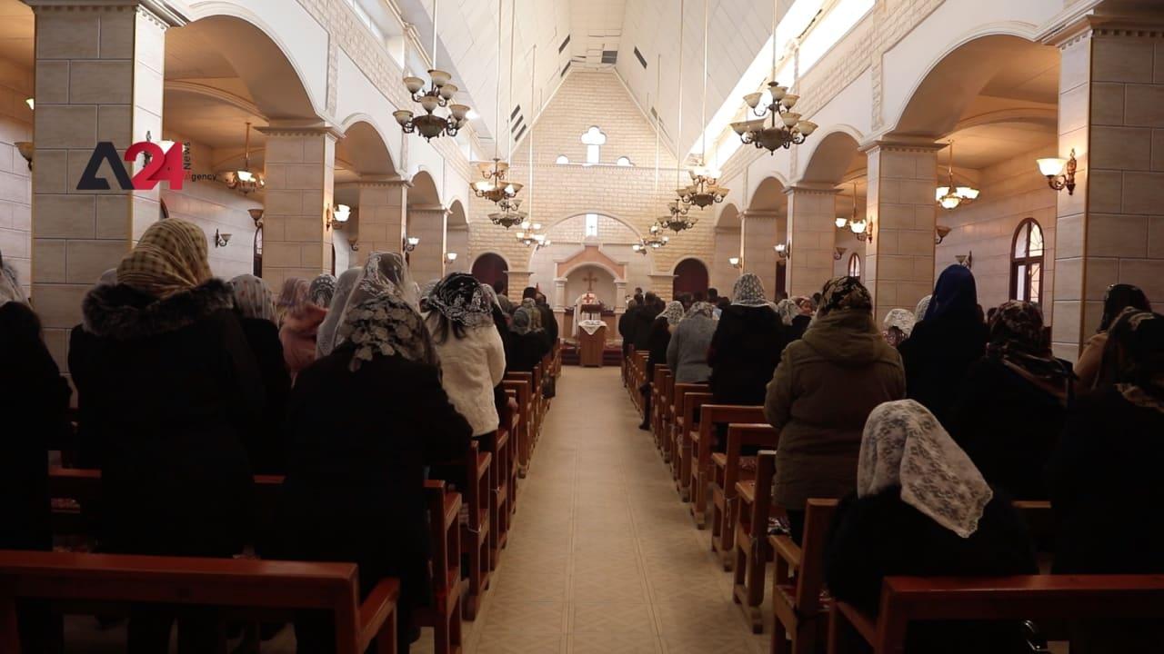 شاهد.. آشوريو سوريا يحتفلون بأعياد الميلاد