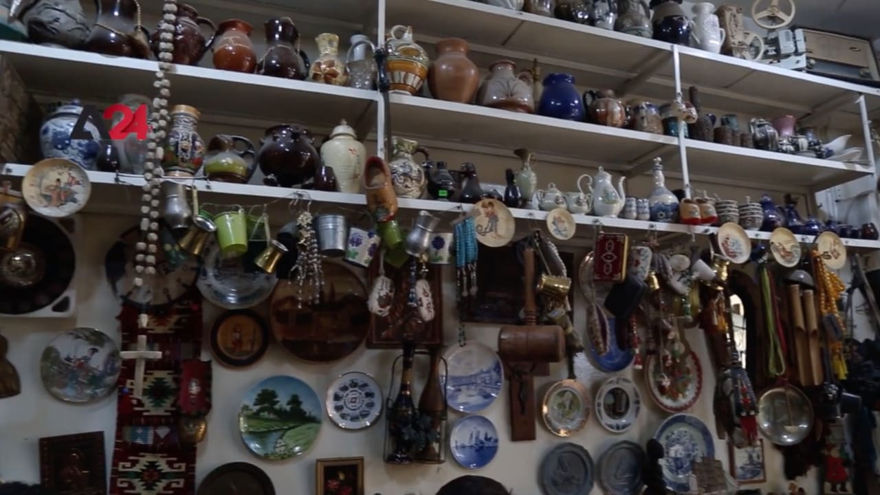 """بعد جمعه القطع التراثية.. """"البيت الكردي"""" يصبح متحف يقصده الجميع في الحسكة"""