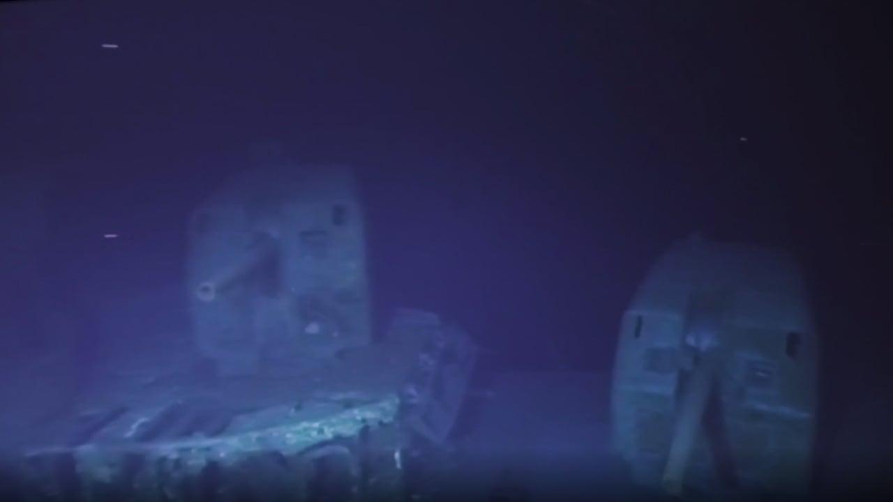 شاهد كيف تبدو أعمق سفينة غارقة في العالم على عمق 6.5 كيلومتر