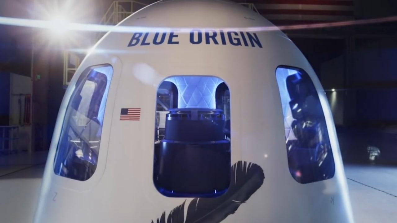 """هذا ما ستبدو عليه أول رحلة لملياردير """"أمازون"""" إلى الفضاء"""