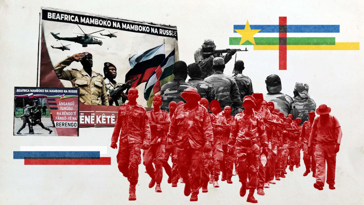 """حصري: CNN تكشف عن جرائم حرب """"فاغنر"""" الروسية في إفريقيا الوسطى"""