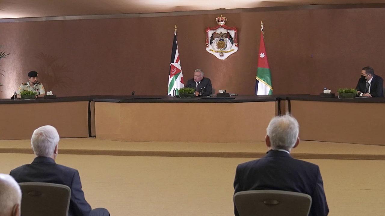 ملك الأردن: سنواصل الإصلاح والبناء.. وابني الحسين إلى جانبي