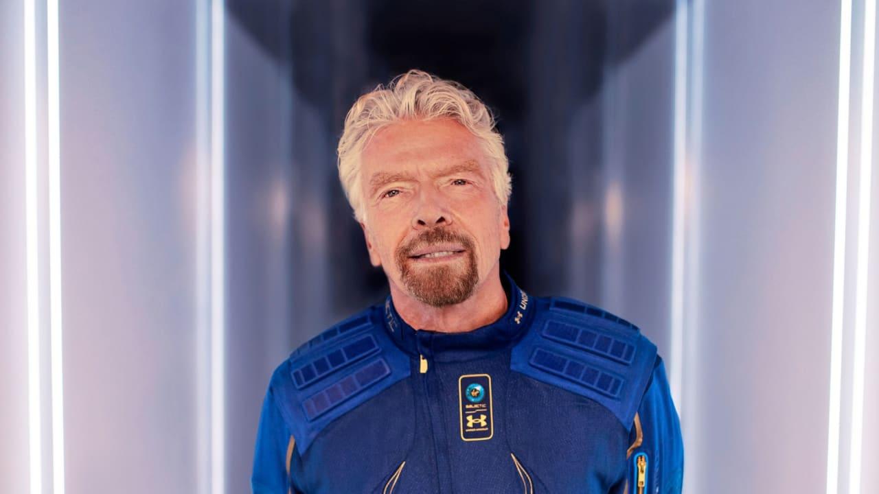 ريتشارد برانسون عن رحلته إلى الفضاء: سأستمتع بكل ثانية من البداية للنهاية