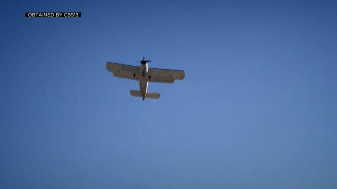 كاميرا ترصد لحظة سقوط طائرة وانفجارها بعد لحظات من إقلاعها