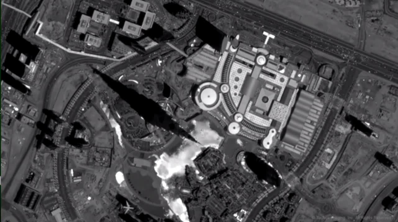 بالفيديو.. كيف يبدو برج خليفة من الفضاء؟