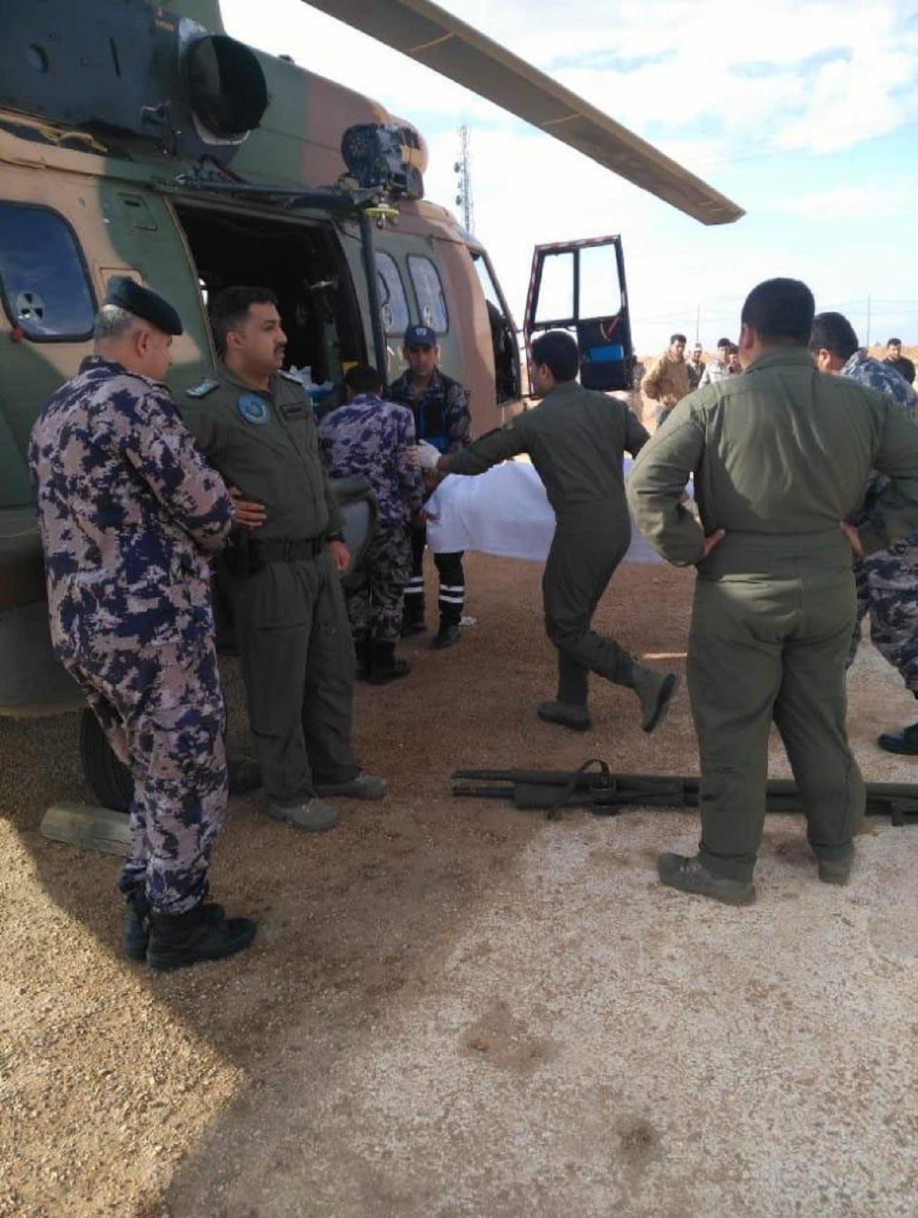 بتوجيهات ملك الأردن.. طائرة إخلاء طبي لـ4 جنود عراقيين إثر انفجار داخل حدود بلادهم