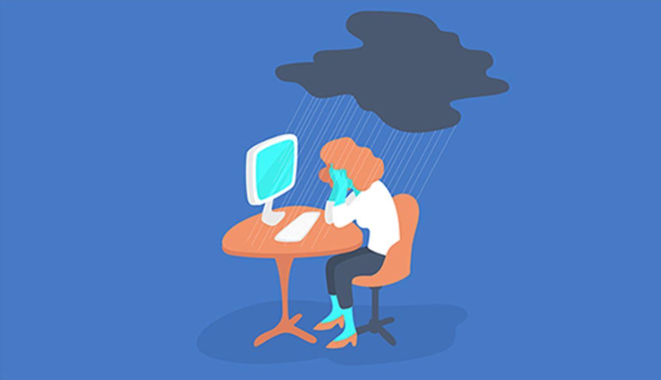 كيف تبكي في مكان العمل (دون فقدان احترام زملائك)؟