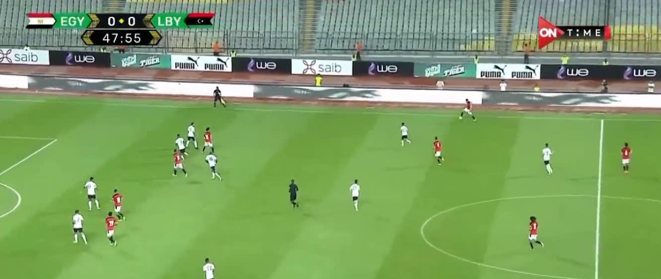 مباراة منتخبي مصر وليبيا
