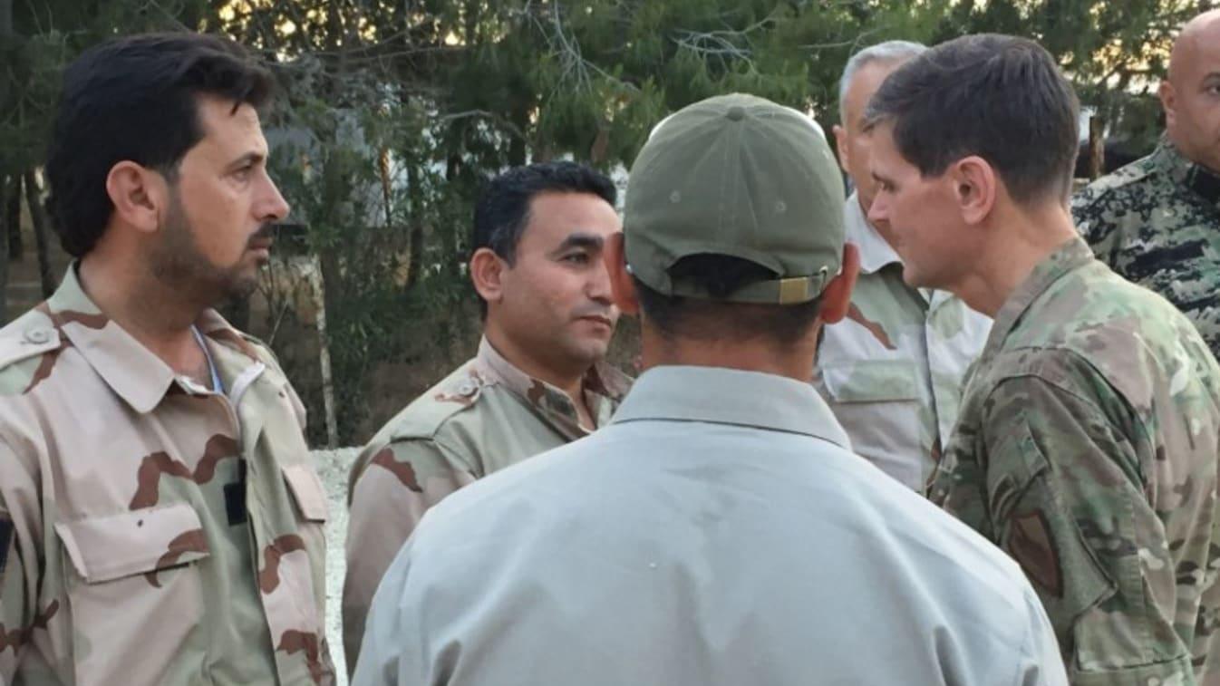 زيارة سرية لقائد القيادة المركزية الأمريكية إلى سوريا