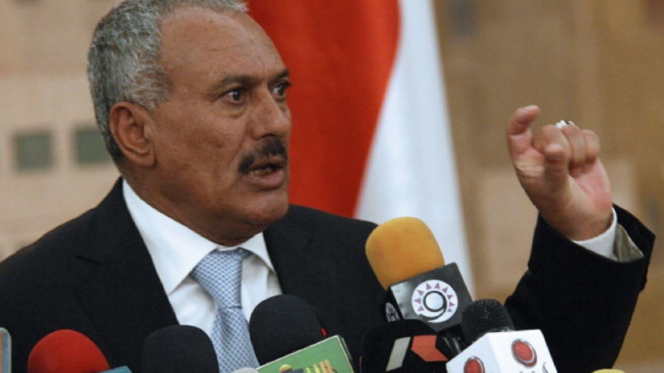 من الدراسة وحتى مقتله.. علي عبدالله صالح في سطور