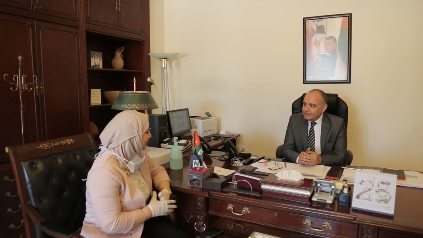 وزير الإعلام الأردني أمجد العضايلة