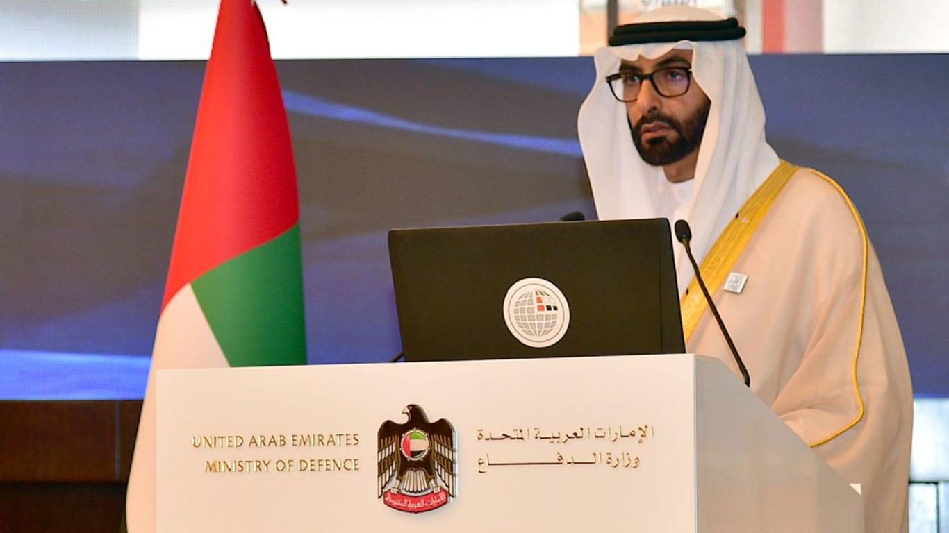 وزير الدولة الإماراتي لشؤون الدفاع محمد بن أحمد البواردي
