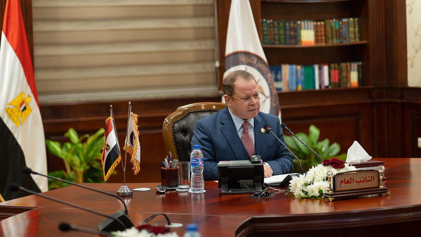 النائب العام المصري المستشار حمادة الصاوى