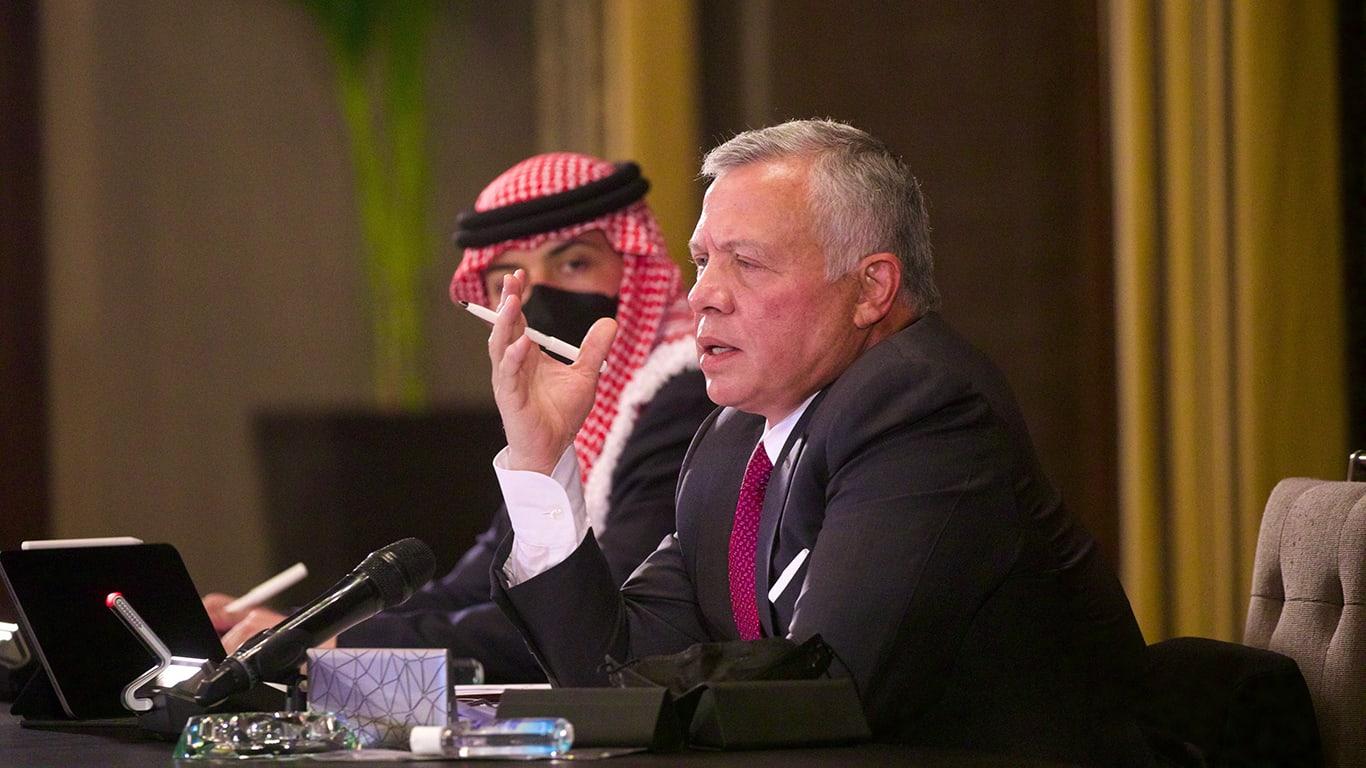 """العاهل الأردني يرد على مناشدات للصفح عن موقوفي قضية """"الفتنة"""""""