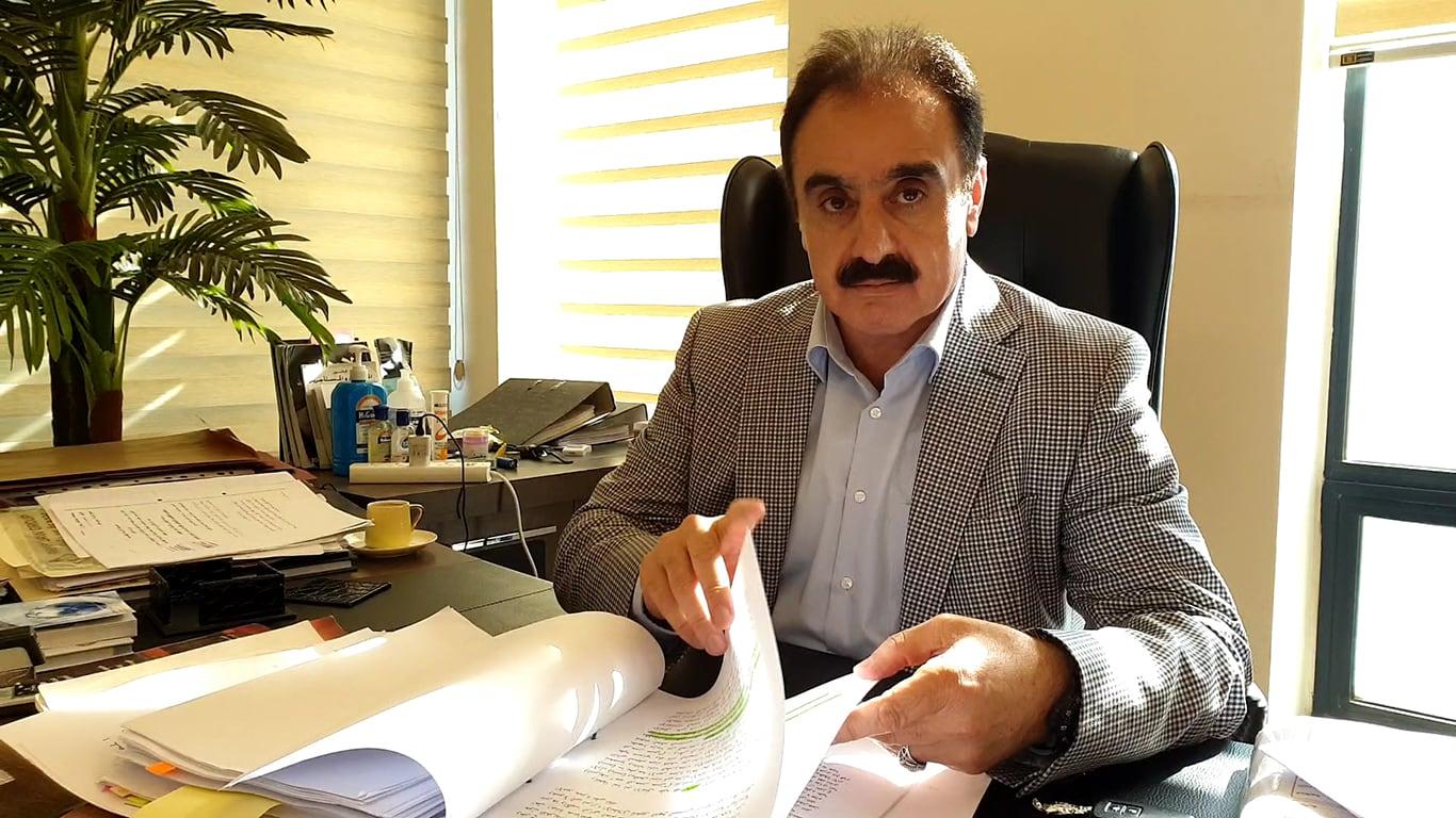 محمد عفيف رئيس هيئة الدفاع عن باسم عوض الله