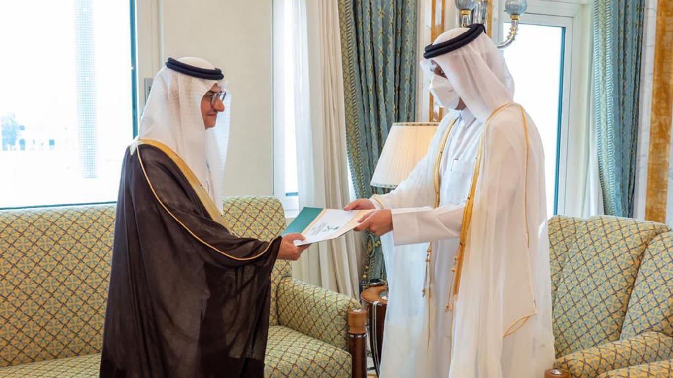 قطر تتسلم أوراق اعتماد أول سفير سعودي منذ 2017