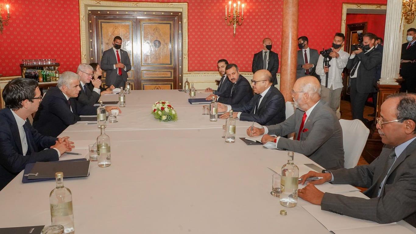وزير الخارجية الإسرائيلي يلتقي نظيره البحريني في روما