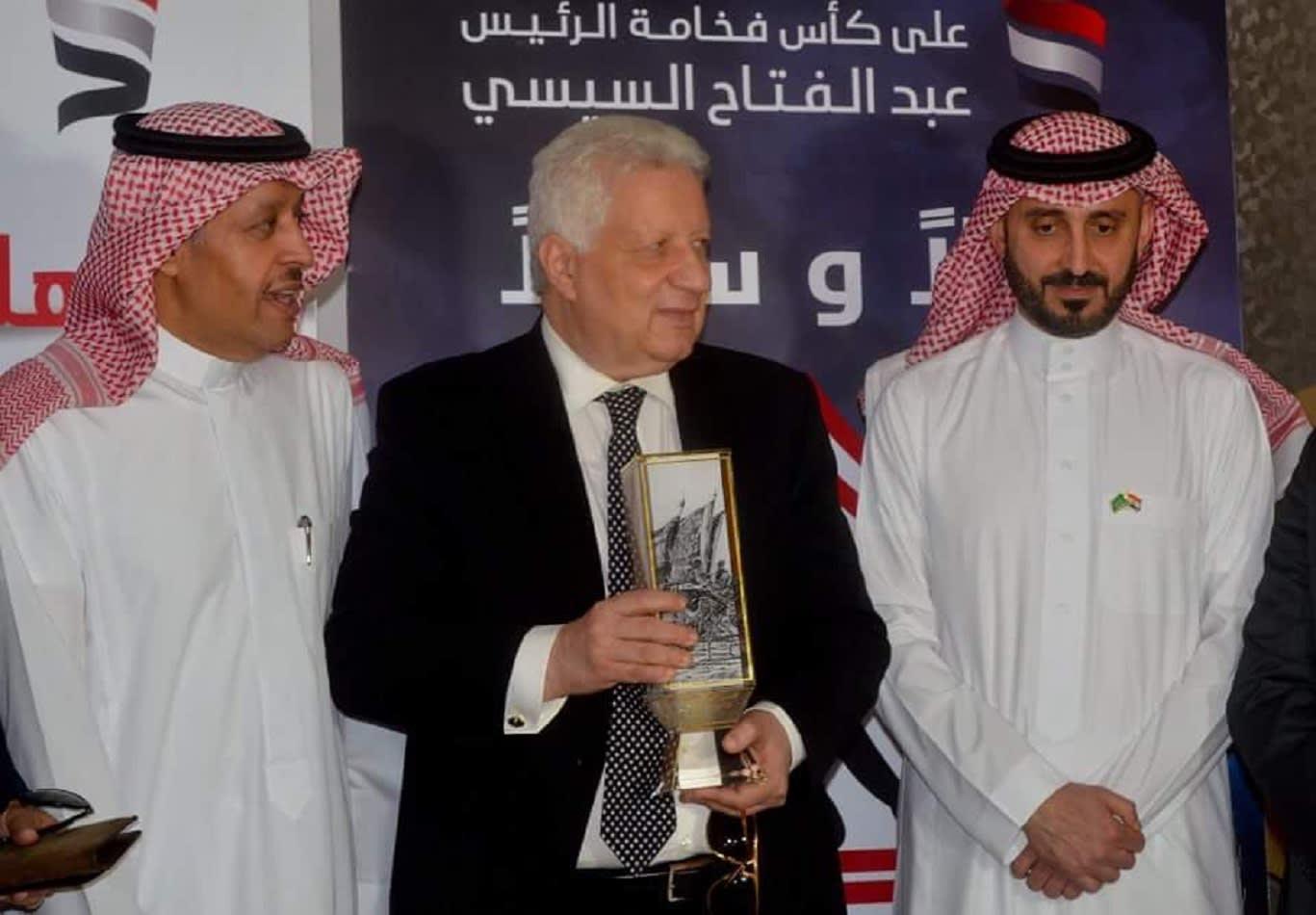 مرتضى منصور في السعودية.. ويعلن: الزمالك يدرس المشاركة بدوري أبطال آسيا