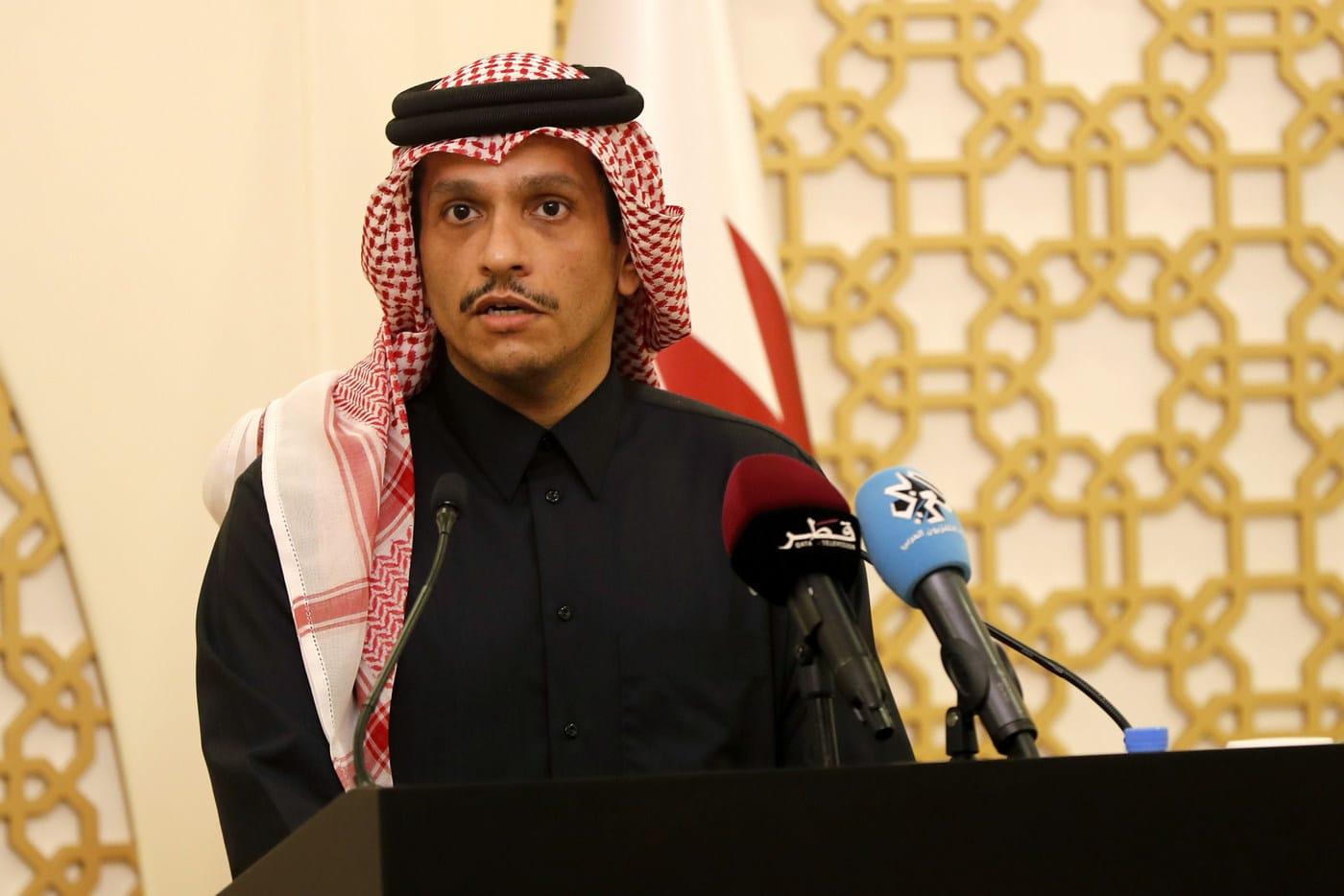 وزير الخارجية القطري الشيخ محمد بن عبدالرحمن