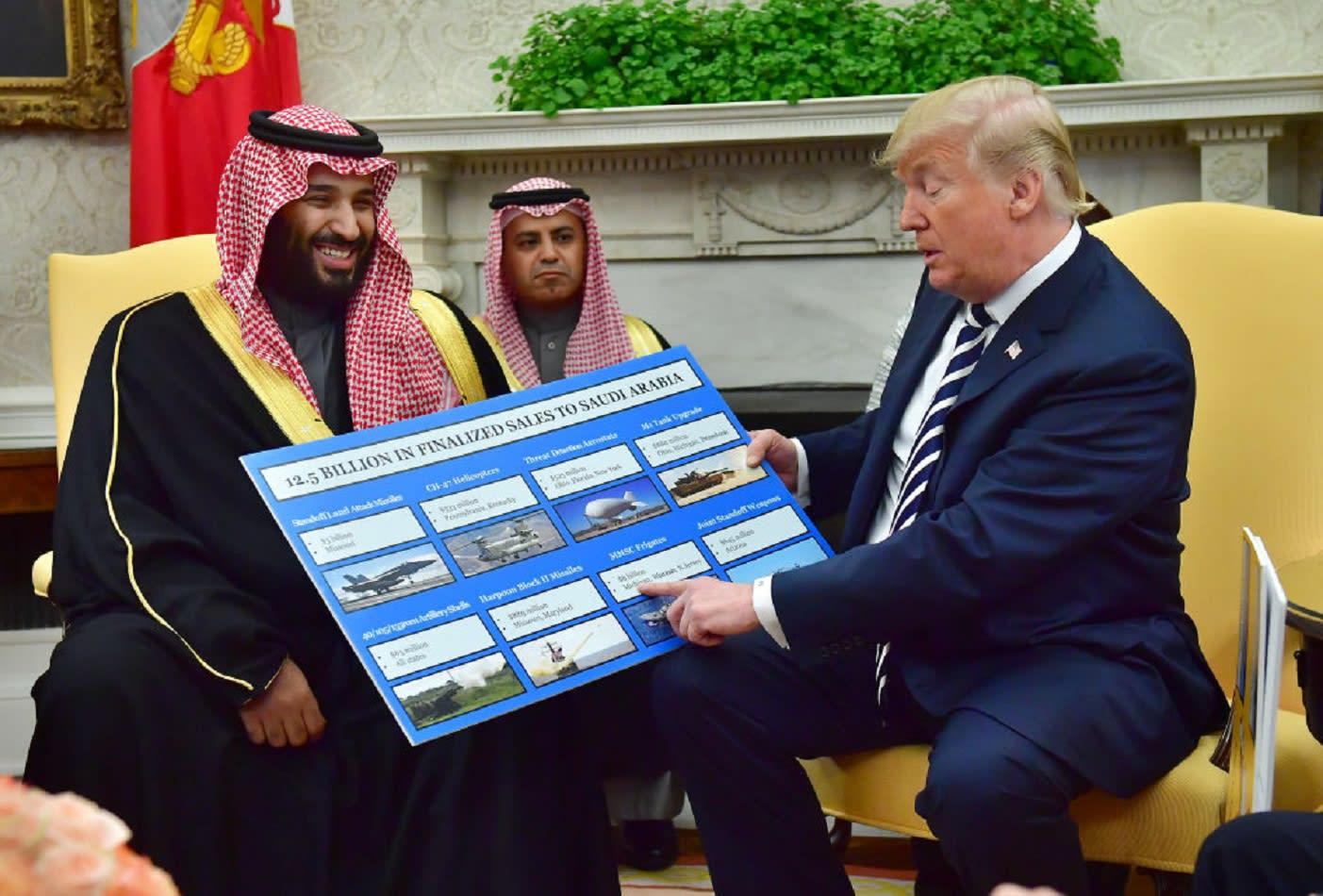 محمد بن سلمان: أحب العمل مع ترامب.. ونشتري السلاح الأمريكي بأموالنا