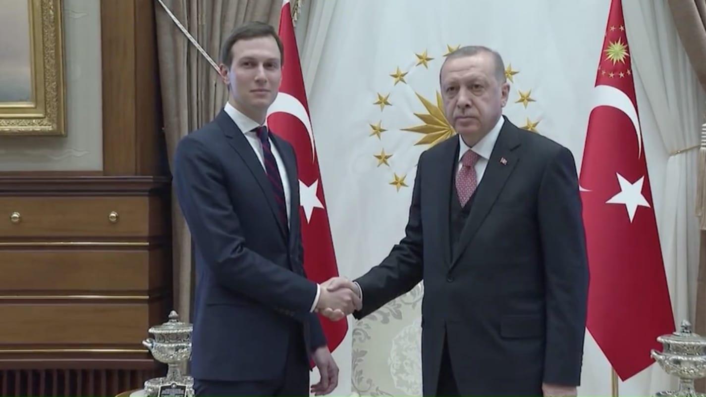 بعد لقاء الملك سلمان ونجله.. كوشنر يلتقي أردوغان بأنقرة