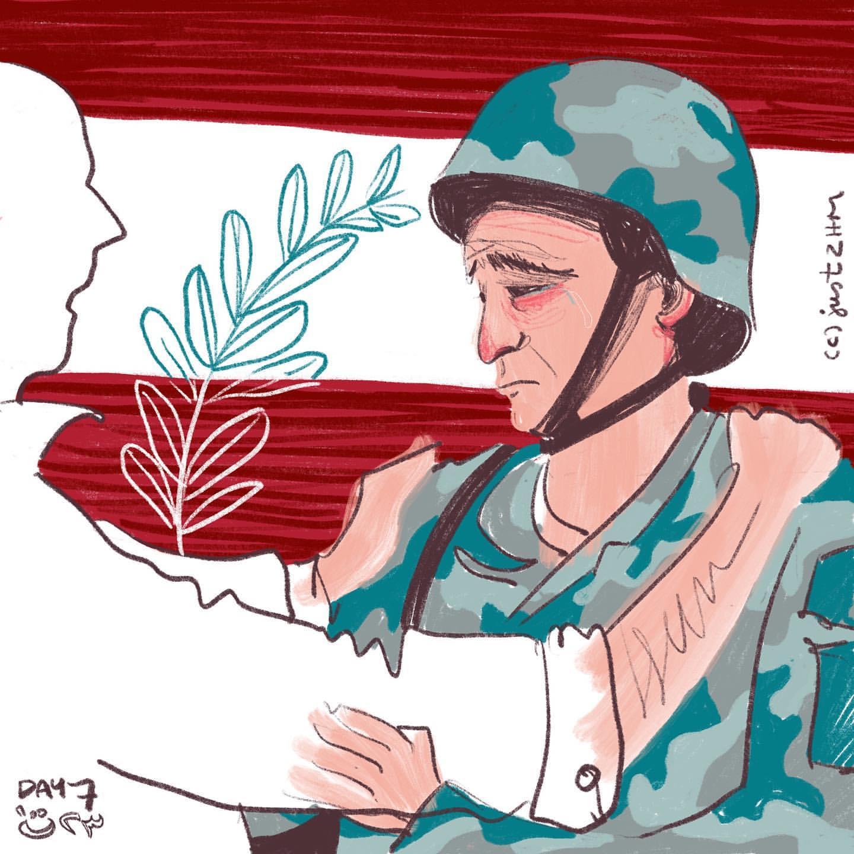بتصاميم ملهمة.. هذه أبرز مظاهر الاحتجاجات اللبنانية