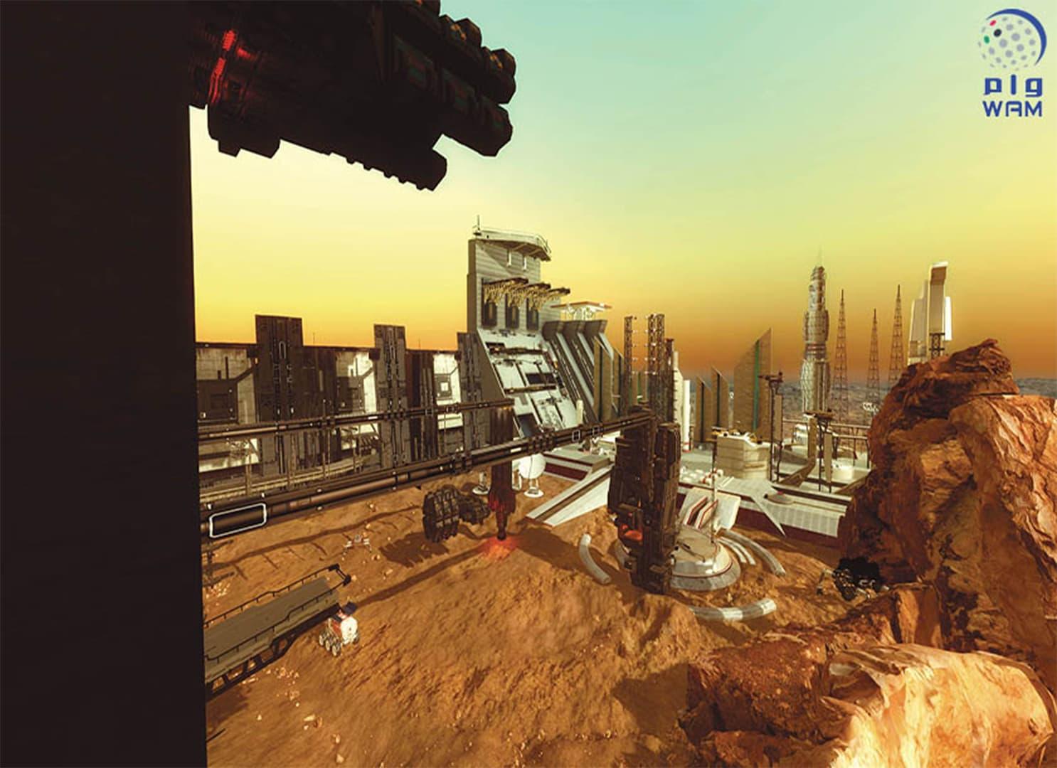 بمشروع يدرس تأثير بيئة الفضاء المنعزلة..الإمارات تستكمل مشوار الـ100 عام لاستيطان المريخ