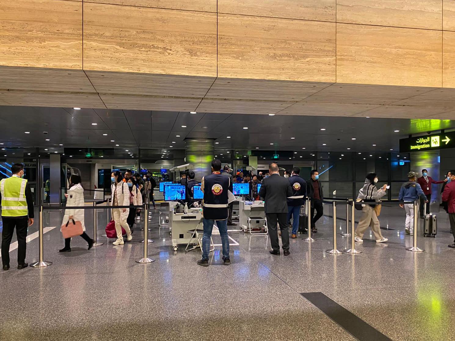 إجراءات استثنائية في مطار الدوحة للكشف عن المصابين بفيروس كورونا