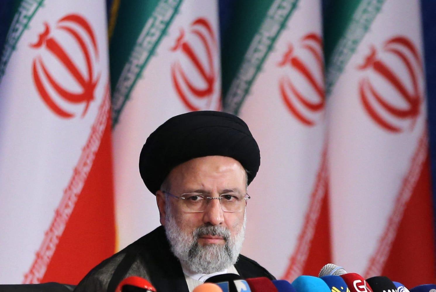 الرئيس الإيراني المنتخب، إبراهيم رئيسي
