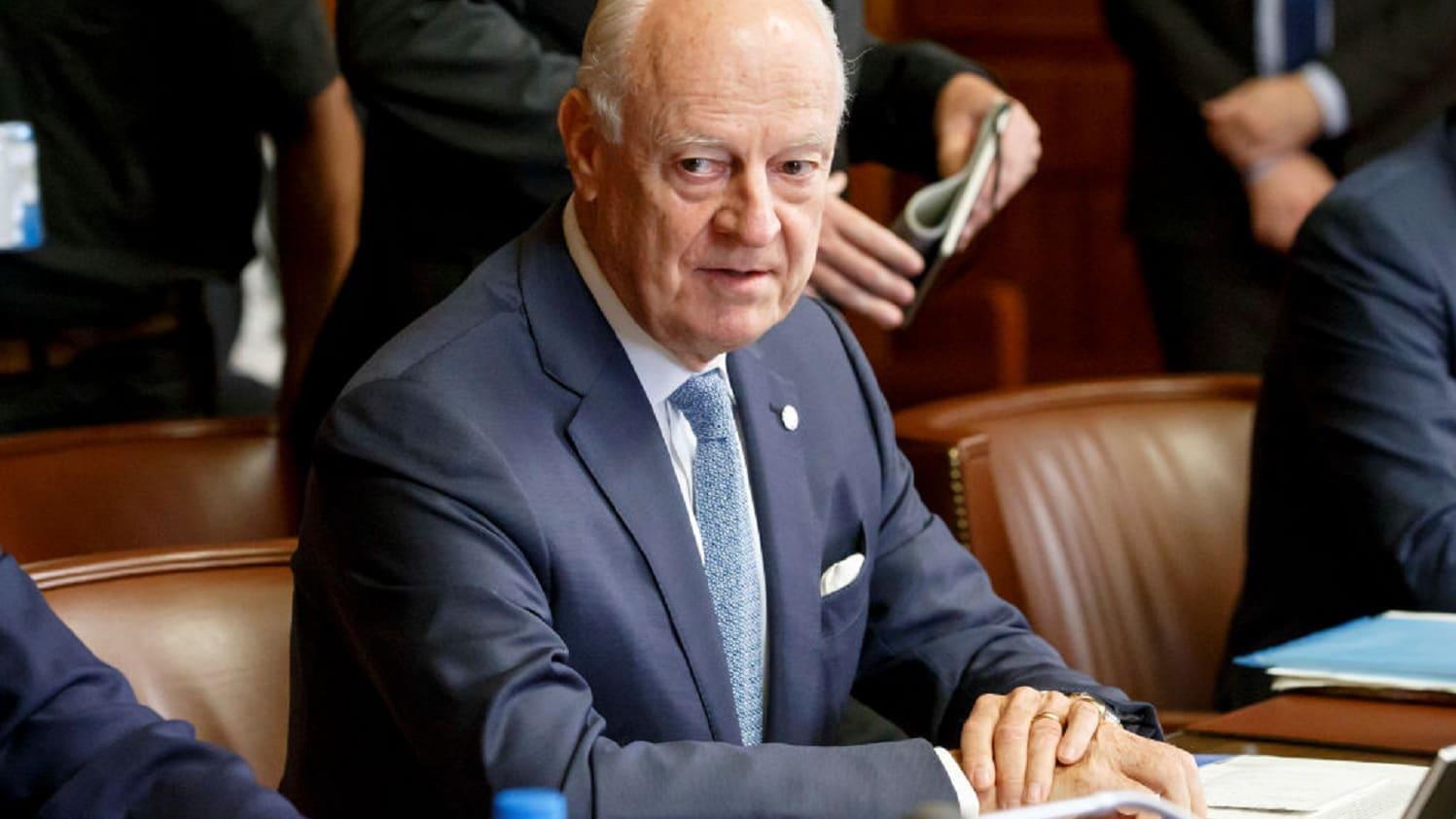 تحذير من دي ميتسورا أمام مجلس الأمن: معركة إدلب كارثية