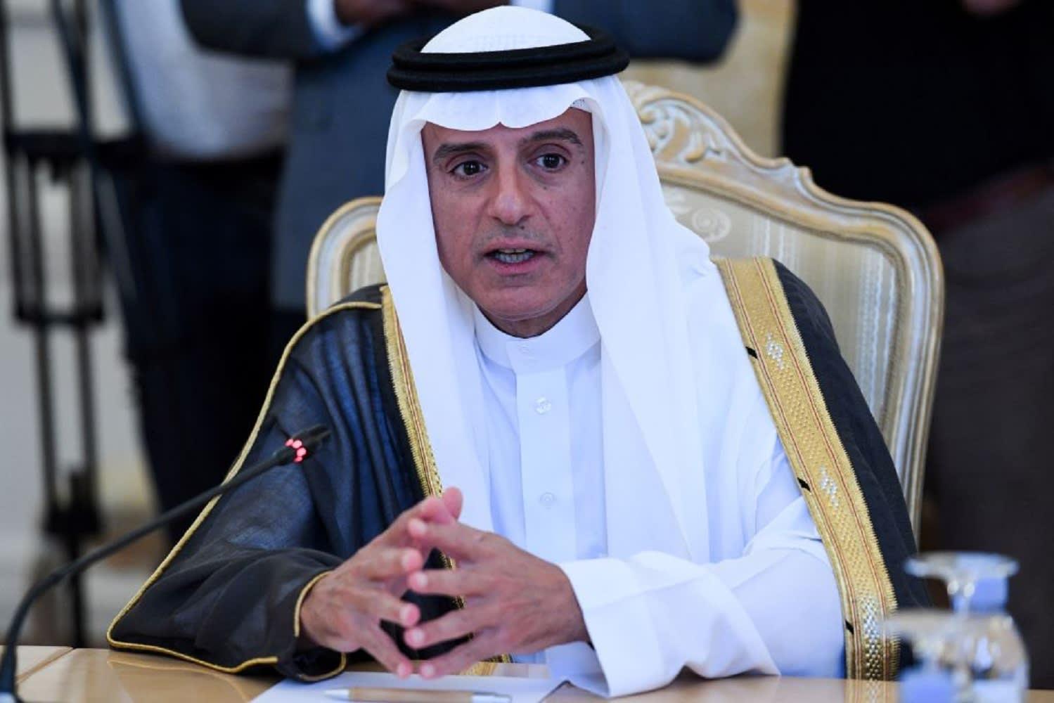 الجبير: السعودية لم تكن تريد الحرب في اليمن