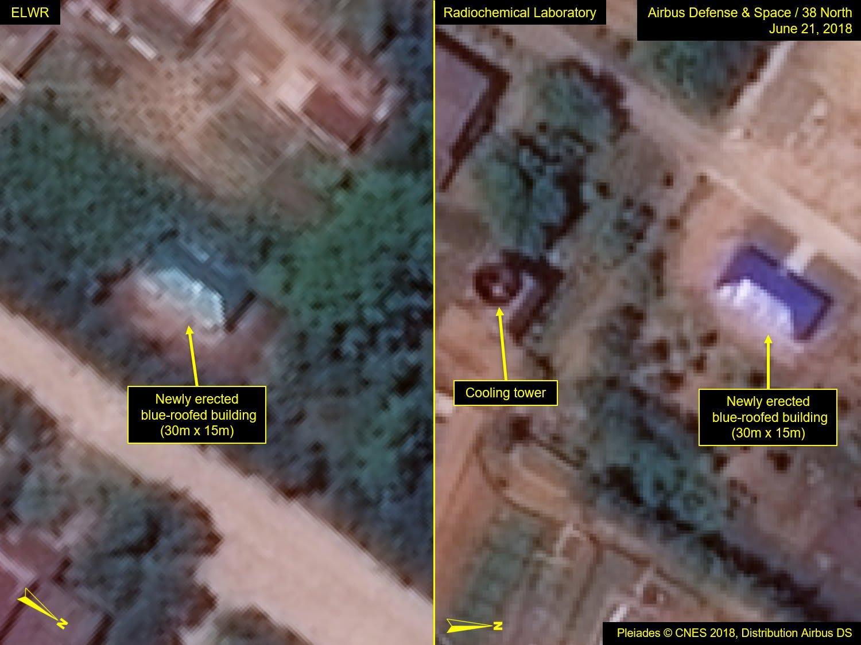 """صور أقمار صناعية تظهر """"تطوير"""" كوريا الشمالية لمنشآت نووية"""