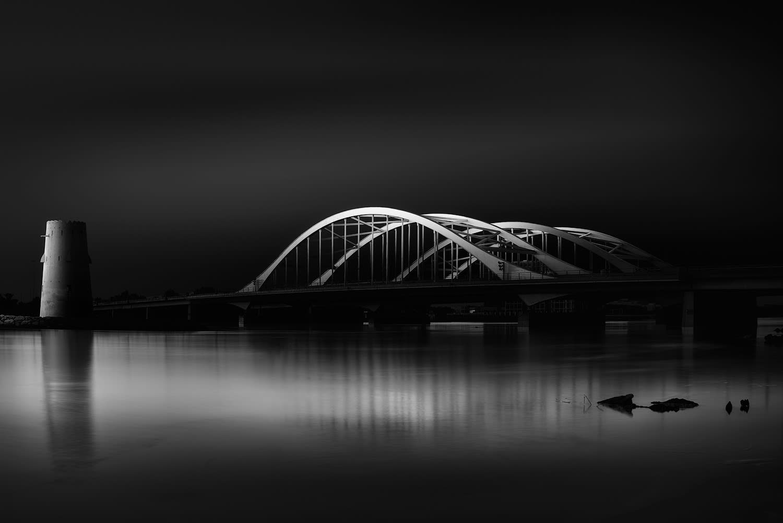 جسر المقطع في أبوظبي